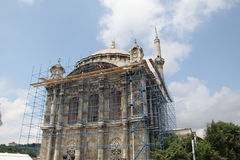 Mezquita de Ortakoy Fotografía de archivo