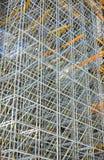 Andamio de la construcción Foto de archivo libre de regalías