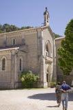 Andando alla chiesa Fotografia Stock