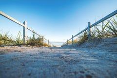 Andando alla spiaggia sulla GEN del ¼ di RÃ immagine stock libera da diritti