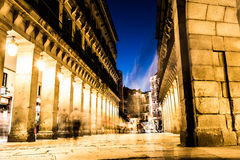 Andando ao prefeito da plaza, Espanha Fotografia de Stock Royalty Free