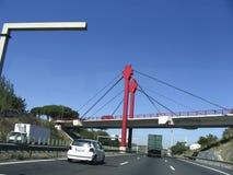 Andando a Lisbona Immagini Stock