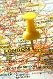Andando a Londra Fotografie Stock