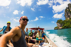 Andando per le avventure, Krabi, Tailandia Fotografia Stock Libera da Diritti