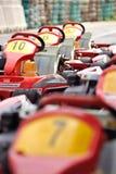 Andare-carrelli Immagini Stock