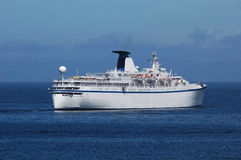 Andare della nave da crociera Fotografia Stock