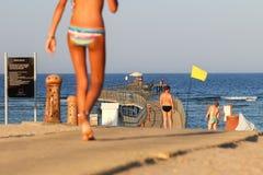 Andare nuotare Fotografie Stock Libere da Diritti