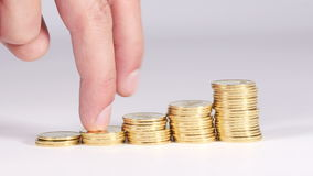 Andare scala finanziaria su archivi video