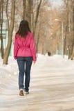 Andare via Fotografia Stock