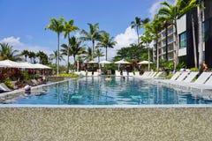 Andaz毛伊旅馆在Wailea,夏威夷 免版税库存照片