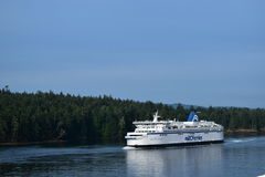 Ande av den Vancouver ön Arkivbild