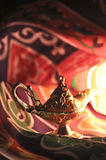 ande i arabiska sagorlampa Royaltyfria Bilder