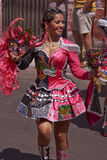 Andean Carnival - Arica, Chile Royalty Free Stock Images
