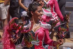 Andean Carnival - Arica, Chile Royalty Free Stock Image