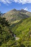 Andean dal Cuzco Peru Royaltyfria Bilder