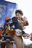 Andean Dancers Royalty Free Stock Photos