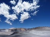 Andean, Desert, Andes, Mountains Royalty Free Stock Photography