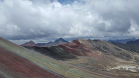 Andean Gods. After rain the colors change up here Stock Photography