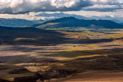 Andean Highlands of Ecuador, South America Royalty Free Stock Photo