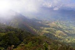 Andean landscape Stock Image