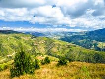 Andean landscape around Samaipata village, Bolivia, South America. Stock Photo