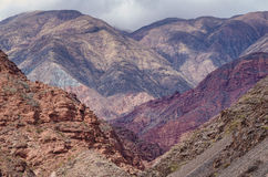 Andean landscape Royalty Free Stock Photo