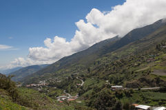 Andean landscape. Royalty Free Stock Photos