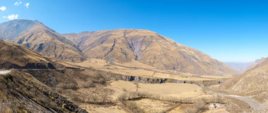 Andean landscape Stock Images