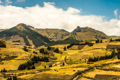 Andean landscape south america Royalty Free Stock Photos