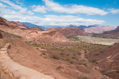 Andean lanscape Royalty Free Stock Image