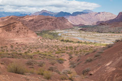 Andean lanscape Royalty Free Stock Photos