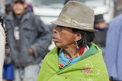 Andean market Saquisilí Stock Photo
