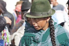 Andean marknad Saquisilà Royaltyfria Foton