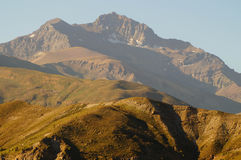 Andean mountain in Chili Royalty Free Stock Images
