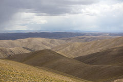 Andean Mountains and the Altiplano, Bolivia. Andean Mountains in the Altiplano with cloudy sky. Bolivia stock images