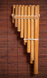 Andean pan flute. Royalty Free Stock Photography