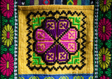 Andean patterns Royalty Free Stock Images