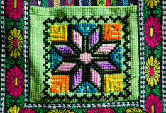 Andean patterns Stock Photo