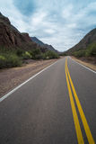 Andean road Stock Photography