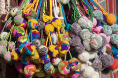 Andean tassels. Stock Photos