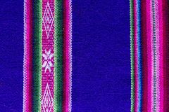 Andean textile in alpaca and sheet wool Royalty Free Stock Photos