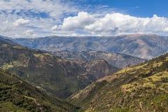 Andean valley Cuzco Peru Stock Image