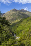Andean valley Cuzco Peru Royalty Free Stock Images