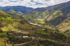 Andean Village, South America Stock Photos