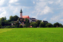 Andechs abbey Stock Image