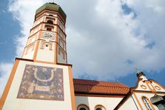 Andechs Abbey Royalty Free Stock Photos