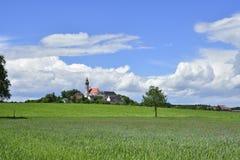 Andechs-Abtei im Bavière Photographie stock libre de droits