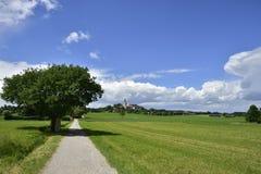 Andechs-Abtei im Bavière Photo libre de droits