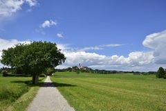 Andechs-Abtei im Bayern Royalty Free Stock Photo