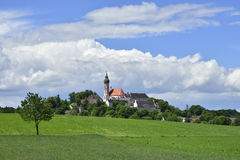 Andechs-Abtei im Bayern Stock Image